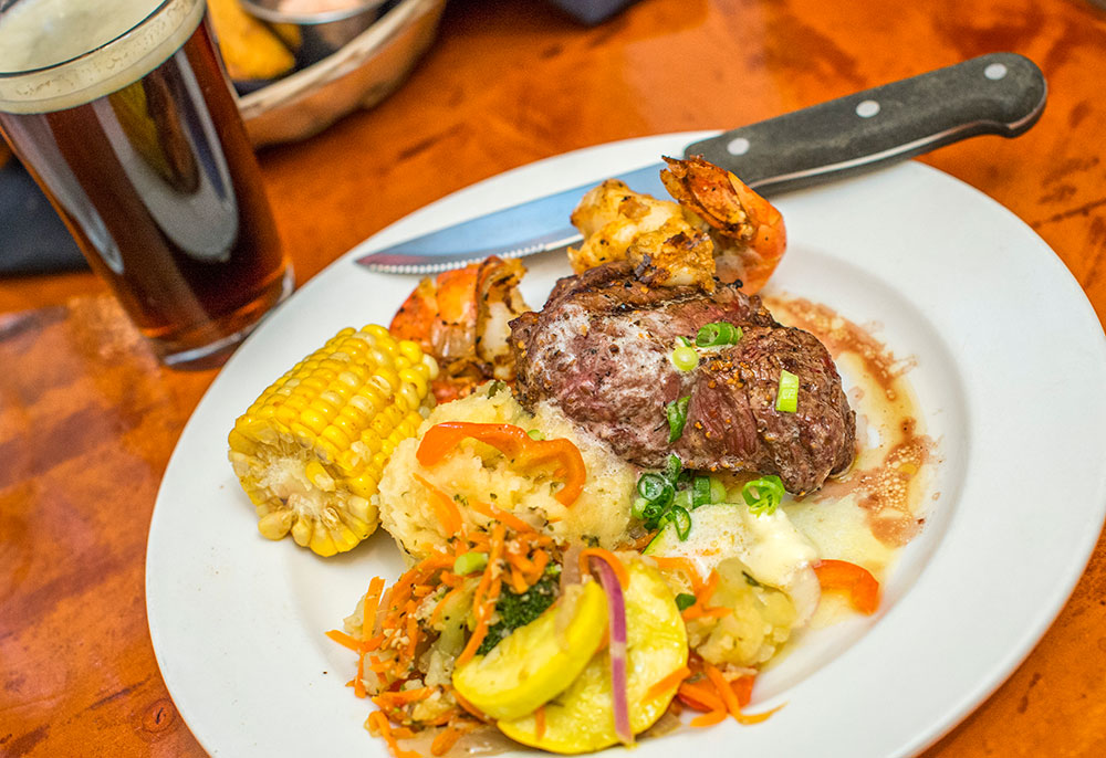 surf and turf steak special