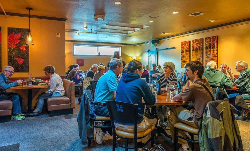 Silverheels dining room