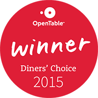 Open Table Diners' Choice